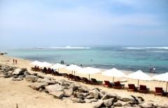 A newly area built for tourism at Pandhawa Beach, Bali by Lavinia Elysia